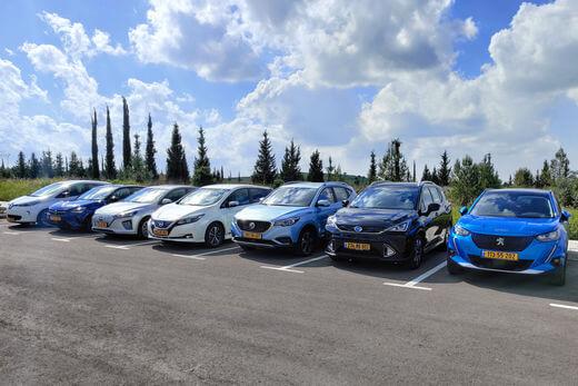 רכבים חשמליים בישראל
