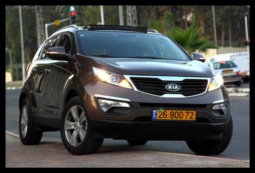 מיוחדים מבחני רכב - קיה ספורטז' - מבחן רכב - iCar EK-85