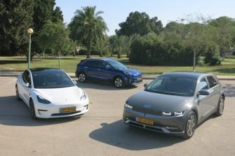 היברידיים וחשמליים: אלה הרכבים הנמכרים בישראל