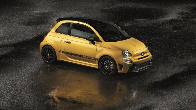 abarth 500 new Front