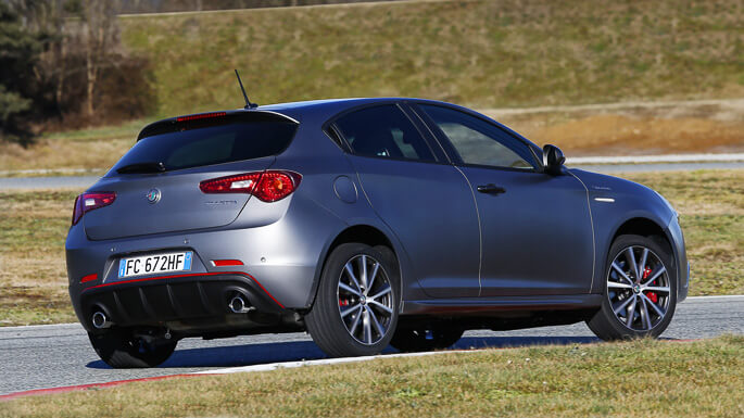 alfa romeo giulietta new Rear