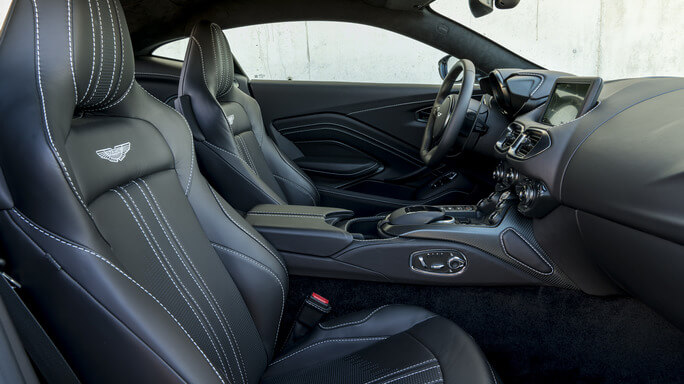 aston martin vantage new Interior