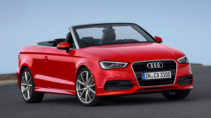 audi A3 cabriolet new Extra