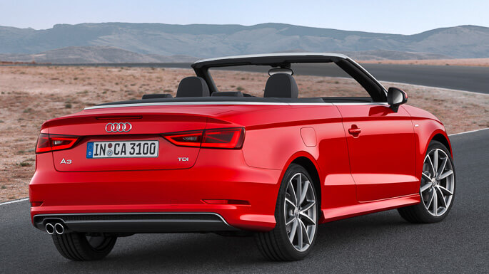 audi A3 cabriolet new Rear