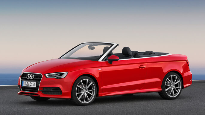 audi A3 cabriolet new Side