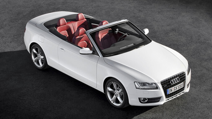 audi A5 Cabriolet 2009 Extra
