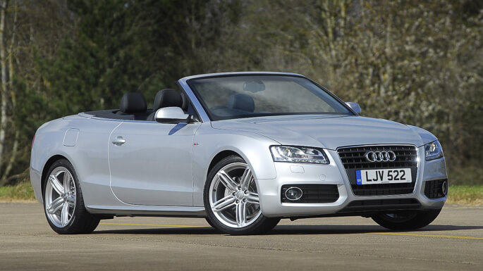 audi A5 Cabriolet 2009 Front