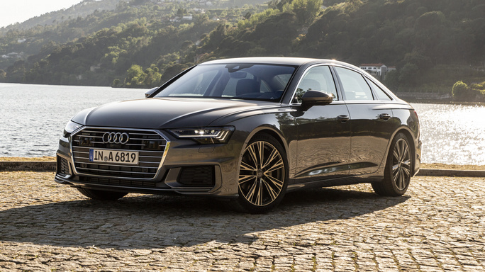 audi A6 new Front