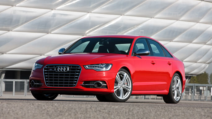 audi S6 RS6 2013 Front