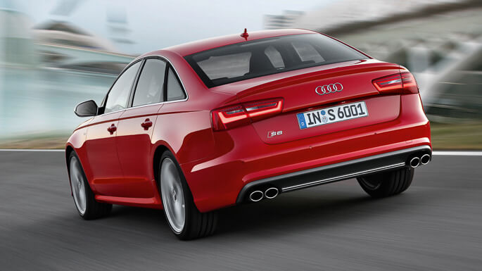 audi S6 RS6 2013 Rear