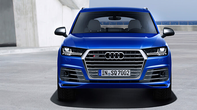 audi sq7 new Front