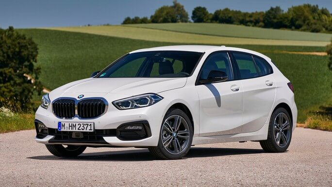 bmw 1 series new Front