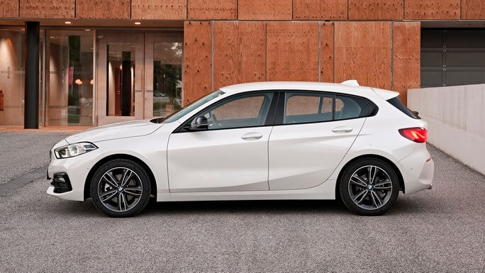 bmw 1 series new Side