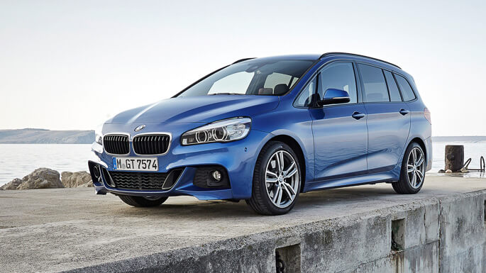 bmw 2 series grand tourer new Front