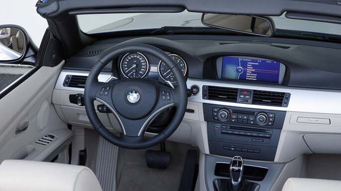 bmw 3 series cabrio 2007 Interior