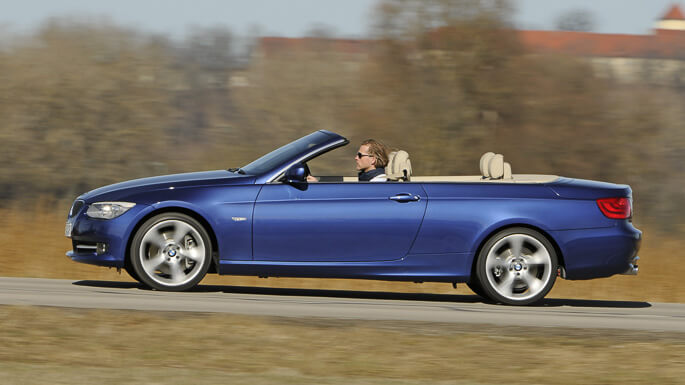 bmw 3 series cabrio 2007 Side