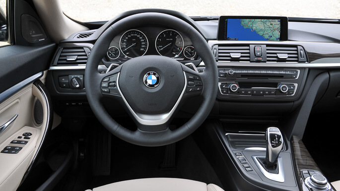 bmw 3 series gran turismo 2014 Interior