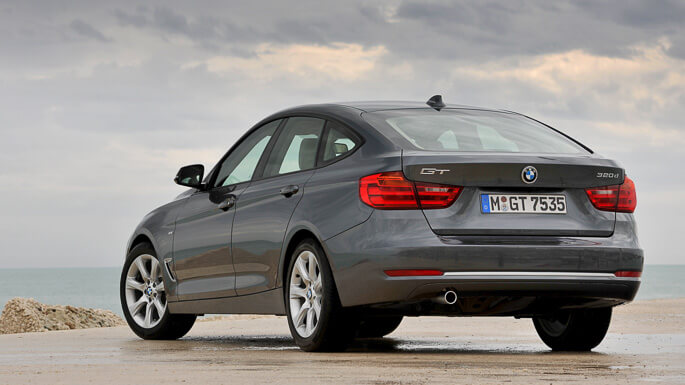 bmw 3 series gran turismo 2014 Rear