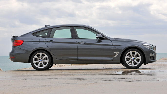 bmw 3 series gran turismo 2014 Side