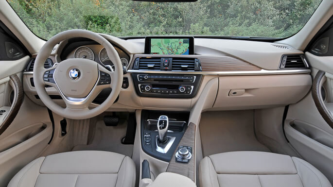 bmw 3 series 2012 Interior