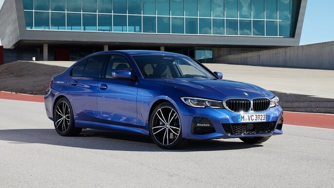 bmw 3 series new Front