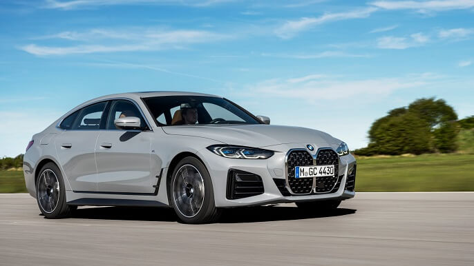 bmw 4 series gran coupe new Extra