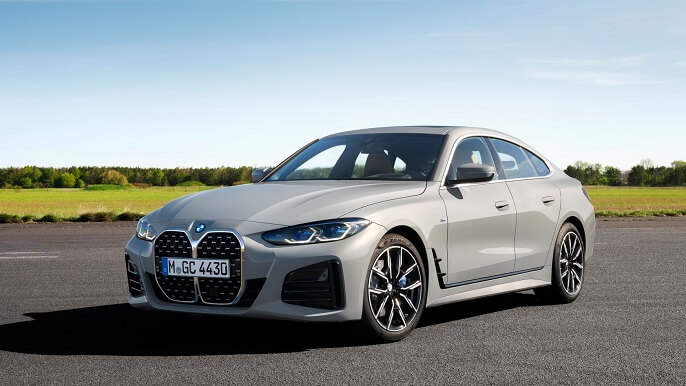 bmw 4 series gran coupe new Front