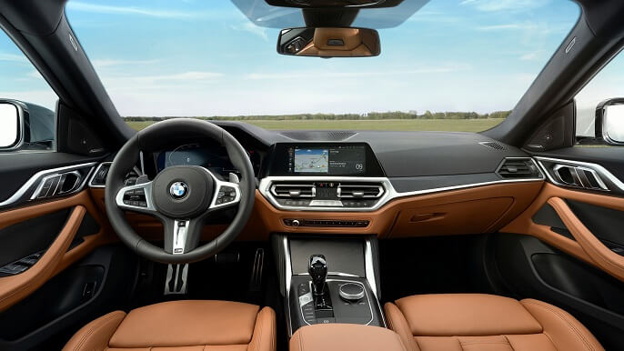 bmw 4 series gran coupe new Interior