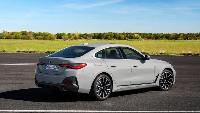 bmw 4 series gran coupe new Rear