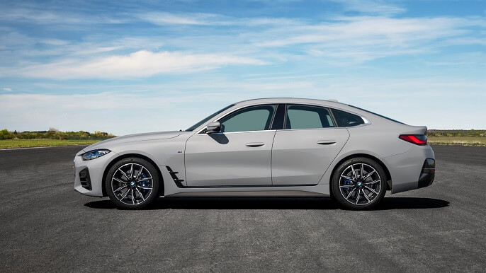 bmw 4 series gran coupe new Side