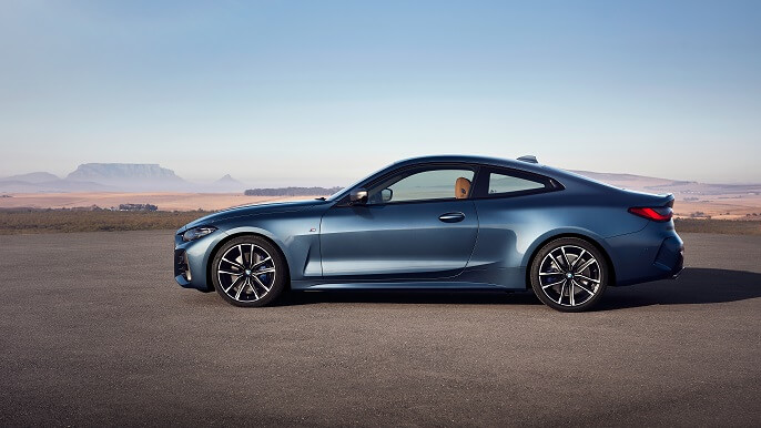 bmw 4 Series new Side
