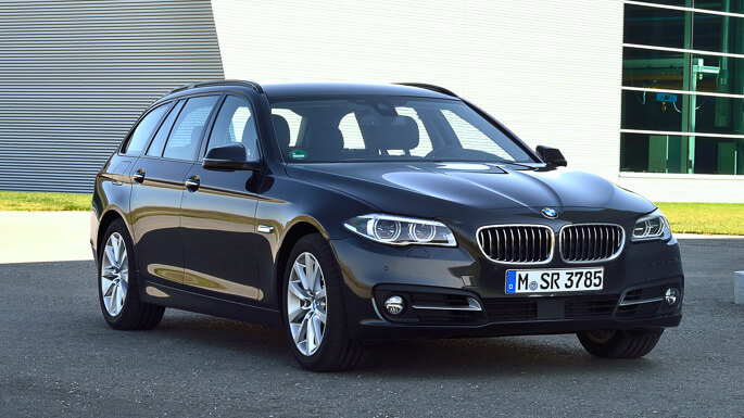 bmw 5 series touring 2013 Front