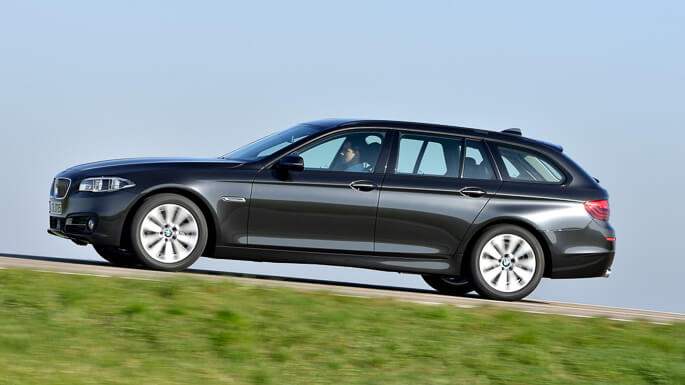 bmw 5 series touring 2013 Side