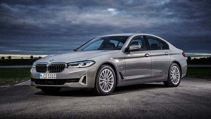 bmw 5 series new Front