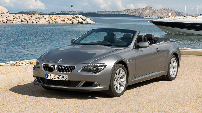 bmw 6 series cabriolet 2005 Front