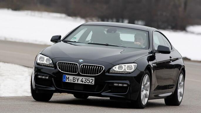 bmw 6 series coupe 2012 Extra