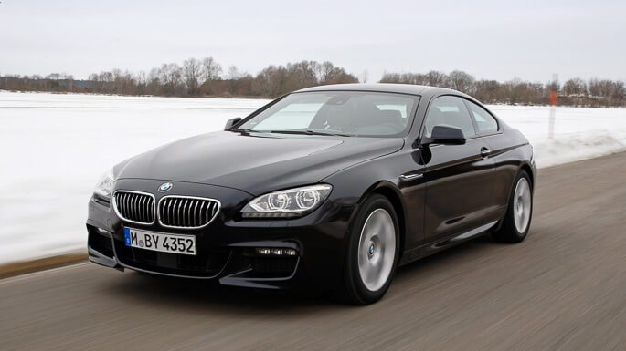 bmw 6 series coupe 2012 Front