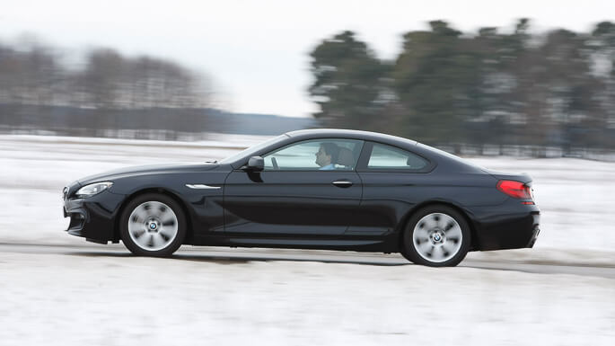 bmw 6 series coupe 2012 Side