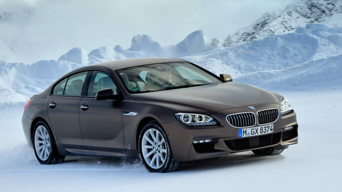 bmw 6 series gran coupe 2012 Front