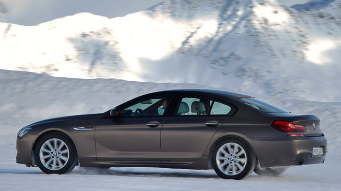bmw 6 series gran coupe 2012 Side