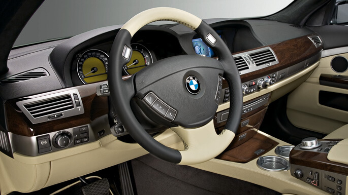 bmw 7 series 2003 Interior