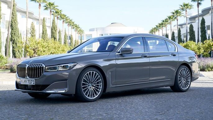 bmw 7 series new Front