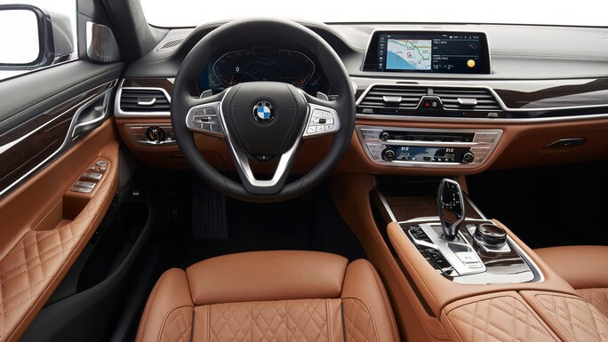 bmw 7 series new Interior