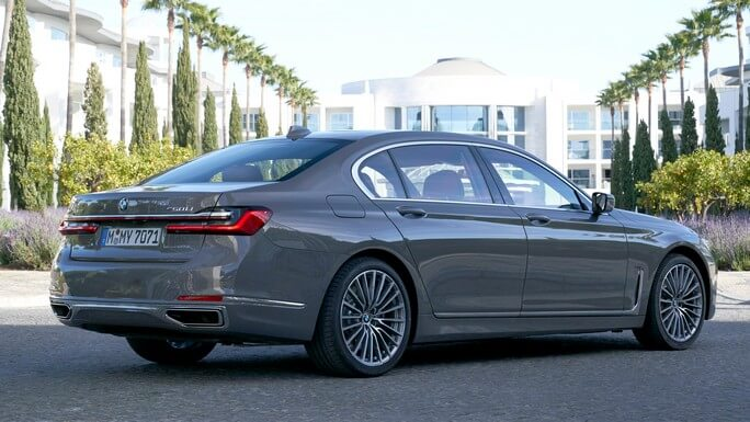 bmw 7 series new Rear
