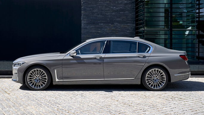 bmw 7 series new Side