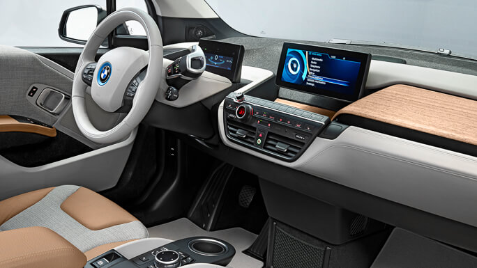 bmw i3 new interior