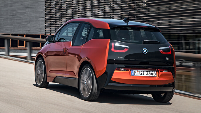 bmw i3 new rear
