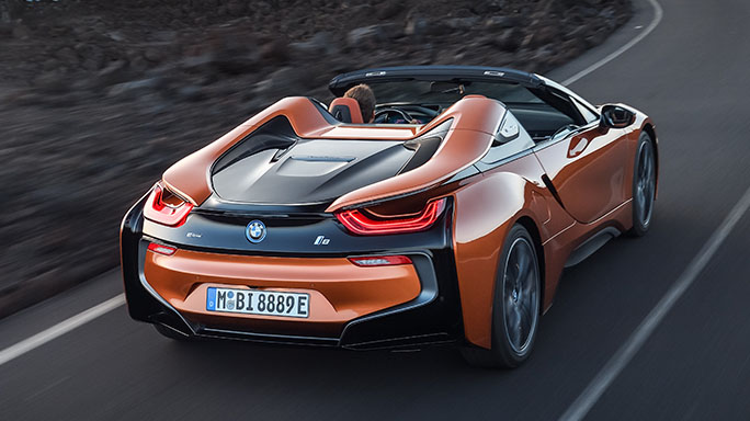 bmw i8 new rear
