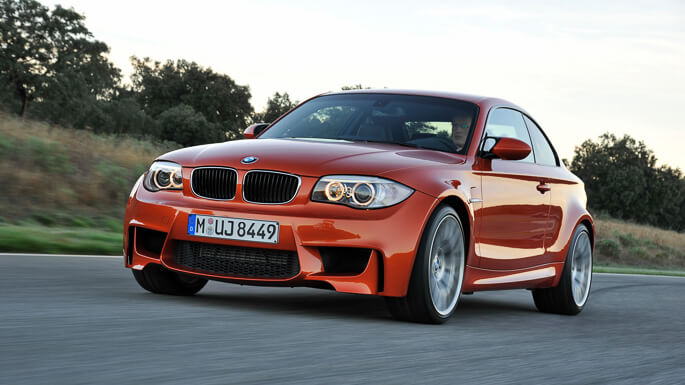 bmw M1 coupe 2011 Front