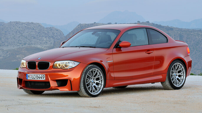 bmw M1 coupe 2011 Side